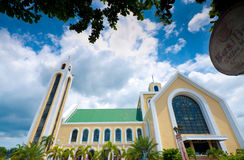Philipine church Royalty Free Stock Image