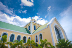 Philipine church Royalty Free Stock Images