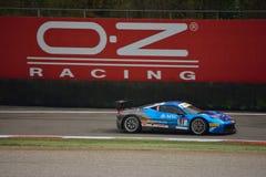 Philipp Baron Ferrari 458 utmaning Evo på Monza Royaltyfri Bild