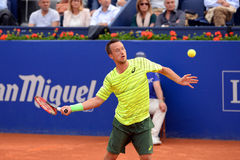 Philipp Kohlschreiber (tennis player from Germany) at the ATP Barcelona Stock Photos
