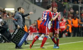 PHILIPP LAHM  BAYERN MUNICH Royalty Free Stock Photography