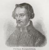 Philipp Melanchthon Stock Photo