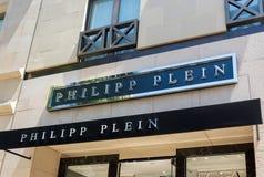 Philipp Plein Retail Store Exterior Royalty Free Stock Image