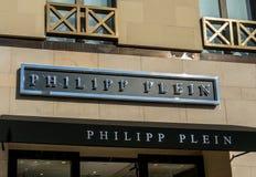 Philipp Plen Retail Store Exterior Lizenzfreie Stockfotografie