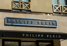 Philipp Plen Retail Store Exterior Royalty Free Stock Photography