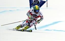 Philipp Schoerghofer  2015 World Cup in Meribel Stock Images