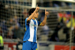 Philippe Coutinho of RCD Espanyol Royalty Free Stock Photos