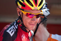 Philippe Gilbert at Vuelta 2012 Royalty Free Stock Photo