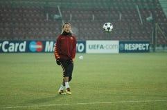 Philippe Mexes, le joueur de COMME Roma Image libre de droits