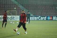 Philippe Mexes, le joueur de COMME Roma Photographie stock