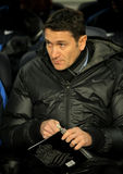 Philippe Montanier of Real Sociedad Royalty Free Stock Photography