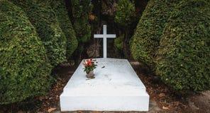 Philippe Petain Marechal de Γαλλία στα γαλλικά που γράφονται στον τάφο όπου είναι θαμμένος λιμένας Joinville, Γαλλία στοκ φωτογραφίες με δικαίωμα ελεύθερης χρήσης