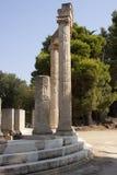 Philippeion в Altis Олимпии стоковое изображение rf