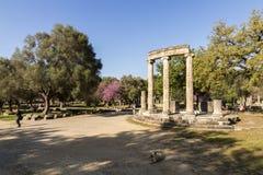 Philippeion en Olympia, Grecia fotos de archivo libres de regalías