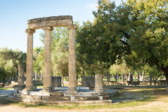 Philippeion in Olympia Royalty Free Stock Images
