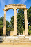 The Philippeion at Olympia, Greece Stock Photography