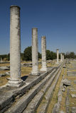 philippi antyczne ruiny Zdjęcie Stock
