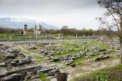 Philippi archaeological site Royalty Free Stock Photo