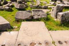 Philippi inscribed symbols Stock Image