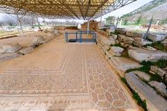 Philippi mozaiki podłoga Obrazy Stock