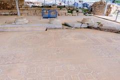 Philippi mozaiki podłoga Zdjęcie Stock