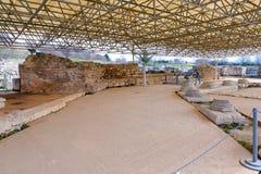 Philippi mozaiki podłoga Fotografia Royalty Free