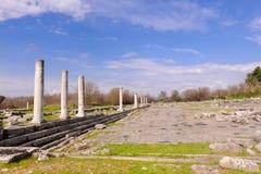 Philippi roman forum Stock Afbeeldingen