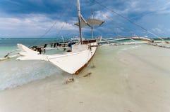 Philippine bangka Stock Image