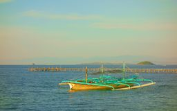 Philippine Bangka Stock Images
