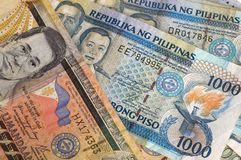 Philippine Banknotes Royalty Free Stock Photo