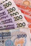 Philippine Banknotes Stock Images