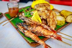 Philippine barbecue food Royalty Free Stock Photography