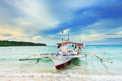 Philippine boat Royalty Free Stock Photo