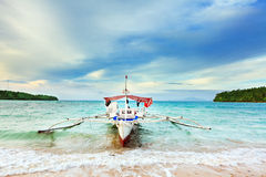 Philippine boat Stock Photo
