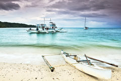Philippine boat Stock Images