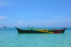 Philippine Bangka Royalty Free Stock Photo