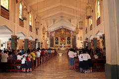 Philippine Catholic church Royalty Free Stock Photo