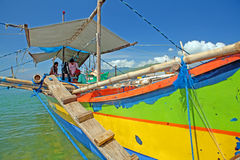 Philippine Fishing Boat Stock Photos