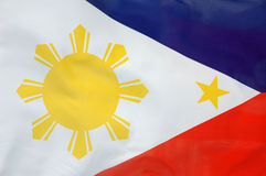 Philippine flag Stock Images