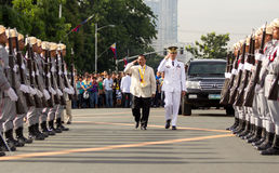 Philippine independence day held in Luneta Park, Manila Stock Photos