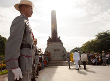 Philippine independence day held in Luneta Park, Manila Royalty Free Stock Photo