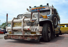 Philippine Jeepney. Stock Photo