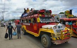 Philippine Jeepney Stock Photography