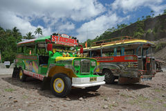 Philippine Jeepney Royalty Free Stock Photography