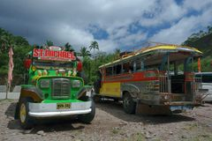 Philippine Jeepney Stock Image