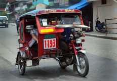 Philippine land transportation Royalty Free Stock Image