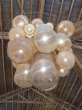Philippine manmade chandelier in Bicutan Taguig royalty free stock image