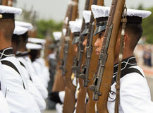 Philippine Millitary academy cadets Royalty Free Stock Image