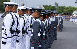 Philippine Millitary academy cadets Stock Images