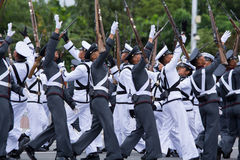 Philippine Millitary academy cadets Royalty Free Stock Images